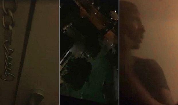 Matka dwójki dzieci utknęła na 23. piętrze płonącego wieżowca. Nagrała dramatyczne wideo