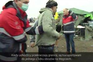 Relacja z tymczasowego obozu dla uchodźców w węgierskim Roeszke