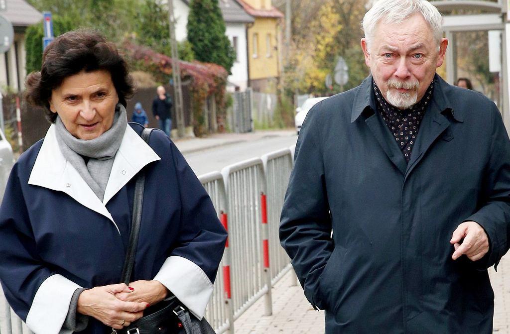 Jacek Majchrowski z żoną