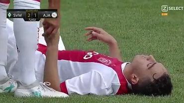Abdelhak Nouri, piłkarz Ajaksu zasłabł podczas meczu towarzyskiego z Werderem Brema