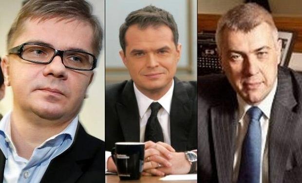 Sylwester Latkowski, Sławomir Nowak, Roman Giertych