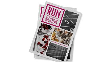 'RUN&COOK. Kulinarny poradnik biegacza