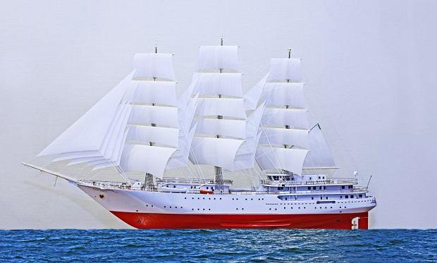الجزائر تبني السفينة الشراعية  في بولونيا والتسليم في 2016 Z19050223Q,Trzymasztowa-fregate-szkolna-dla-Marynarki-Wojenne