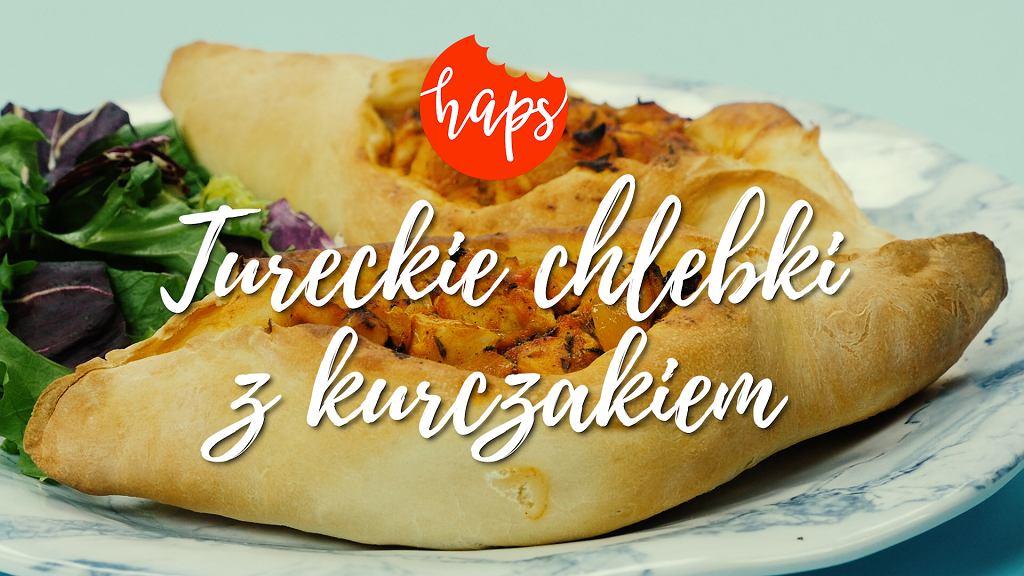 Tureckie Chlebki Z Kurczakiem I Przepisy Hapsa