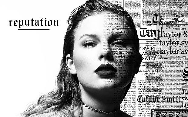 Taylor Swift - okładka płyty 'Reputation'