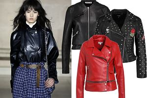 Skórzana kurtka w nowej odsłonie - tej jesieni modna będzie czerwień, ćwieki i długość mini