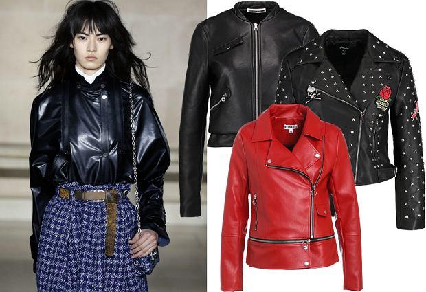 4c17c43507 Skórzana kurtka w nowej odsłonie - tej jesieni modna będzie czerwień