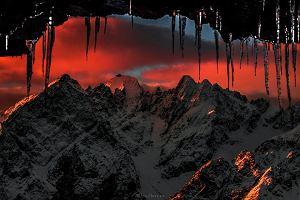 Prawdziwy Mordor kryje się w Tatrach! Zrobił zdjęcie, które zachwyca i równocześnie przeraża