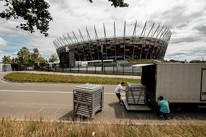 Szczyt NATO w Warszawie. Odholowano 500 aut, drog�wka przejecha�a 49 tys. km