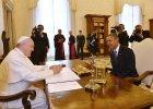 Pierwsze spotkanie Obamy z papie�em Franciszkiem. Prezydent da� mu nasiona