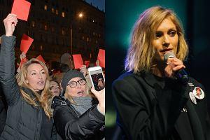 8 marca ulicami Warszawy i wielu innych miast Polski przeszli uczestnicy manifestacji związanych z Międzynarodowym Strajkiem Kobiet. W proteście przeciw przemocy wobec kobiet i ograniczaniu ich praw przez Kościół i polityków udział wzięły, między innymi, Anja Rubik, Kayah, Martyna Wojciechowska i Maja Ostaszewska. Zobaczcie, kto jeszcze pojawił się na proteście w stolicy.