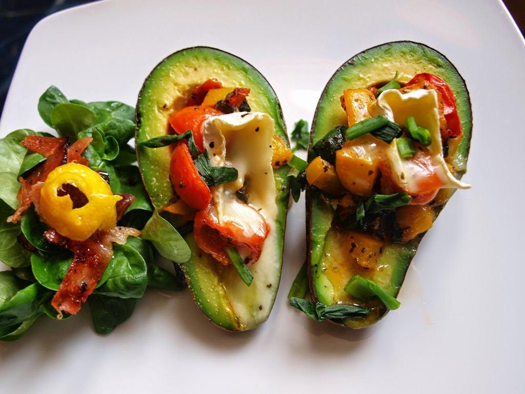 Przekąski z avocado