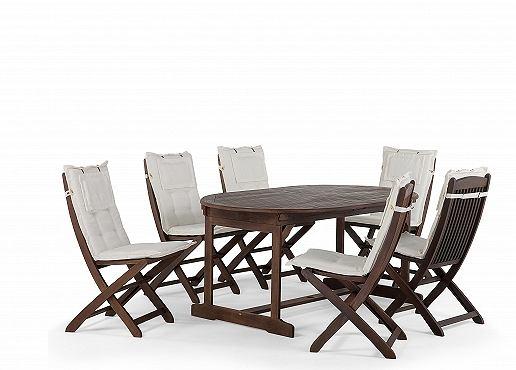Meble ogrodowe stół + 6 krzeseł