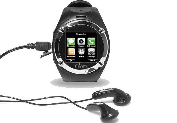 Nowoczesne zegarki - JOYMAN MP4 WATCH