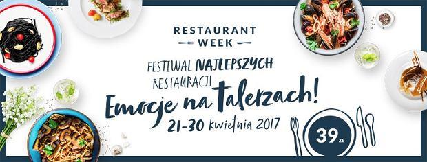 Restaurant Week 2017 EMOCJE NA TALERZACH