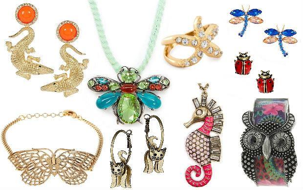 Biżuteria inspirowana naturą i zwierzętami