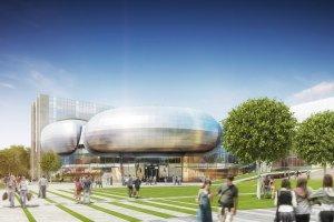 Nowe futurystyczne gmachy dla UW rosn� na Ochocie