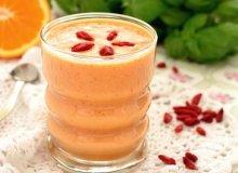 Owocowy koktajl z kaszą jaglaną i jagodami goji - ugotuj