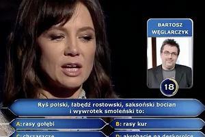 Kinga Rusin w 'Milionerach'