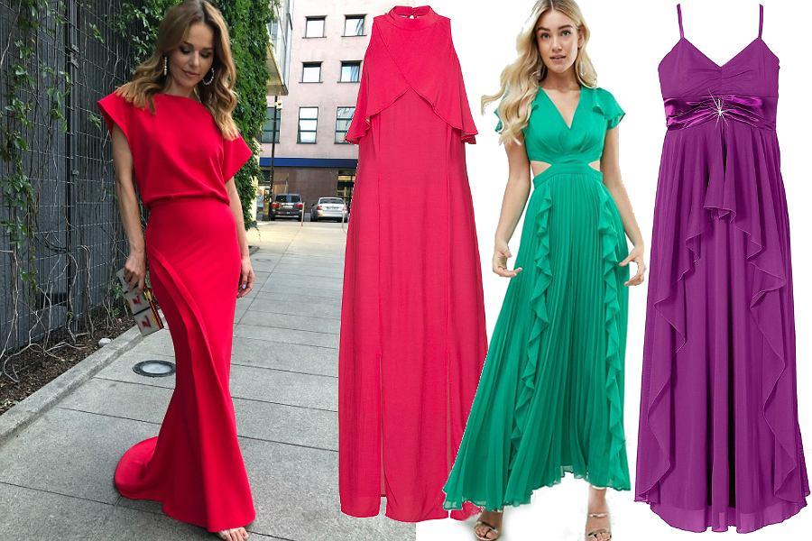 b0ae1fdcc932 Długie sukienki na wesele. Jaką wybrać  Modele idealne na upalne lato