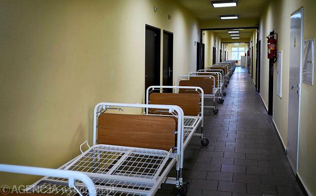 Komornik zaj�� konta szpitala w D�browie G�rniczej