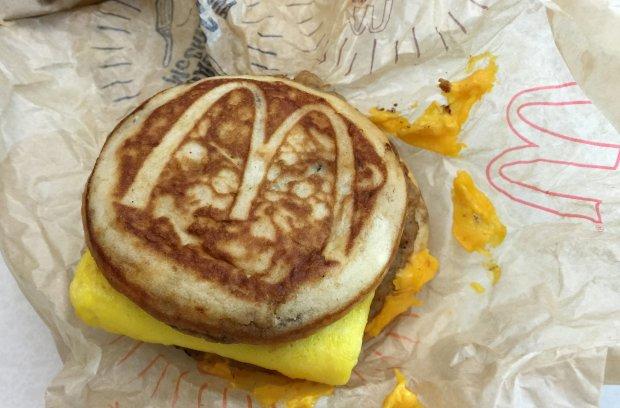 �niadaniowa kanapka McDonald's