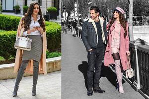 Celia Jaunat wie, jak modnie nosić kozaki - zainspiruj się jej stylem