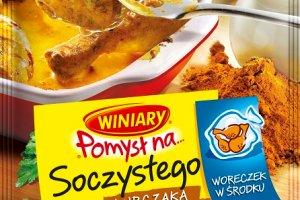 Kurczak z piekarnika w orientalnym wydaniu -  nowy WINIARY POMYSŁ NA  soczystego kurczaka w śmietankowym curry!