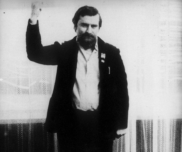 Lech Wałęsa internowany w Arłamowie
