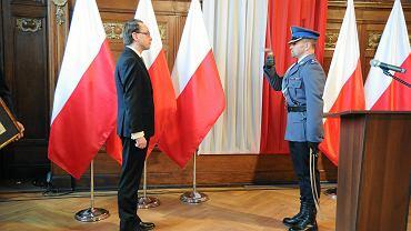 Uroczyste pożegnanie wojewody Krzysztofa Kozłowskiego z urzędem