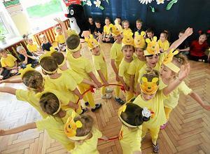 Nasz bardzo zajęty przedszkolak