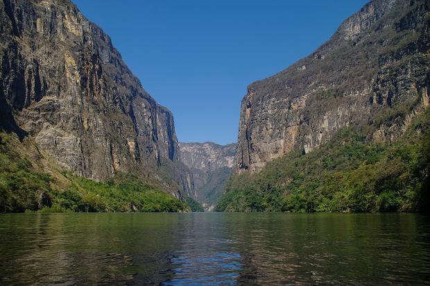 Kanion Sumidero:  na spotkanie z krokodylem