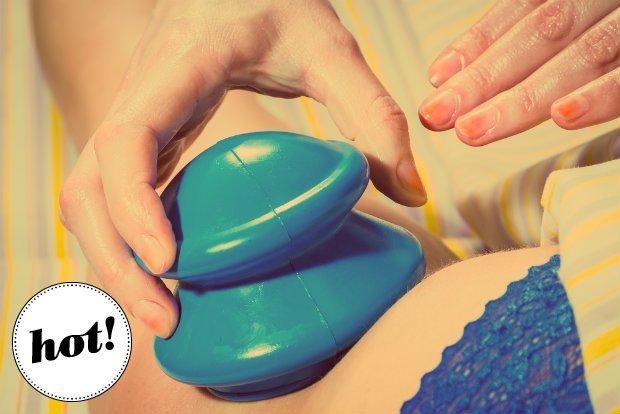 Masaż bańką chińską - co warto wiedzieć o tej metodzie walki z cellulitem? Na pewno, że boli!