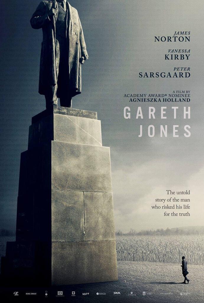 Plakat filmu 'Gareth Jones', reż. Agnieszka Holland / Mat. promocyjne