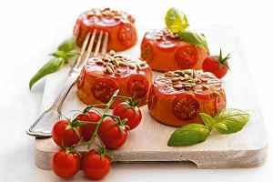 Bavarois de tomates