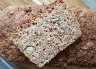 Najłatwiejszy <strong>domowy</strong> <strong>chleb</strong> razowy - z 5 składników, bez zakwasu, bez zagniatania [PRZEPIS]