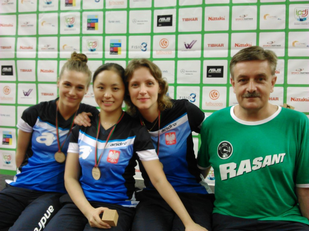 Tenisistki Zamku Tarnobrzeg z medalami ME