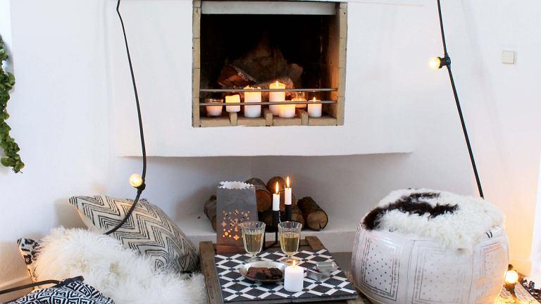 W WERSJI STONOWANEJ. We wnętrzach inspirowanych etno postawmy na dużą liczbę poduszek, pufów i nastrojowych lampionów.