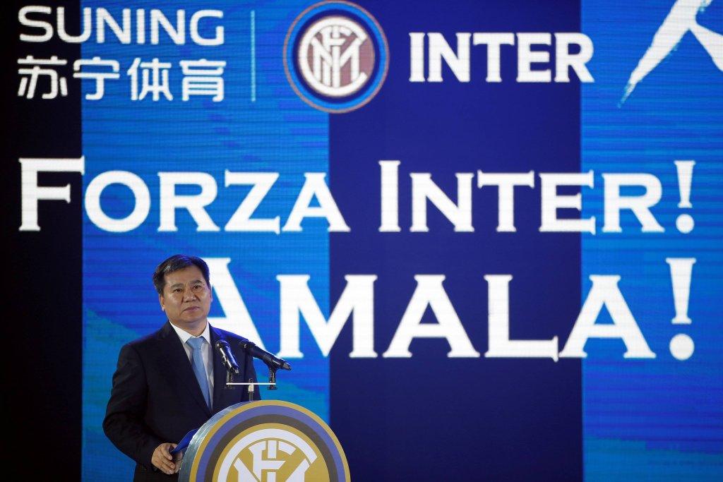 Konferencja prasowa ws. przejęcia udziałów w klubie Inter Mediolan
