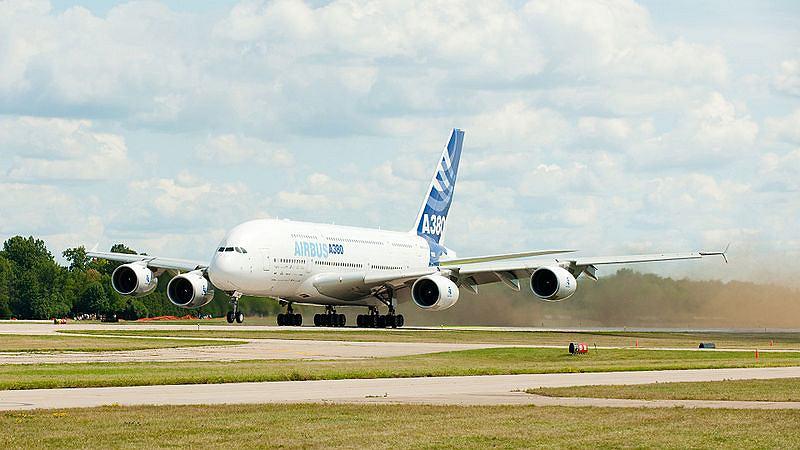 Airbus A380 / fot. Gjarkiewicz/CC/Wikipedia.com
