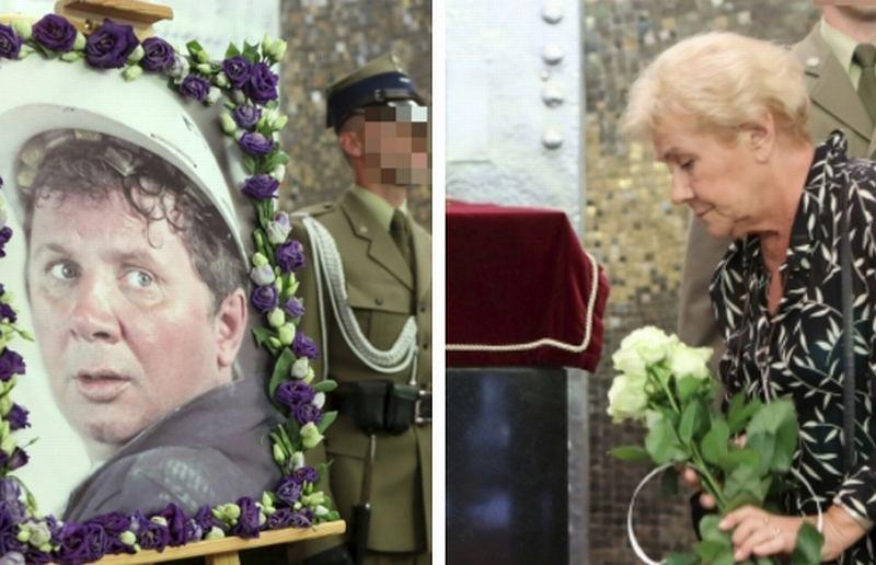 Pogrzeb Romana Kłosowskiego. Pożegnali go m.in Teresa Lipowska, Czesław Majewski, Jerzy Gruza