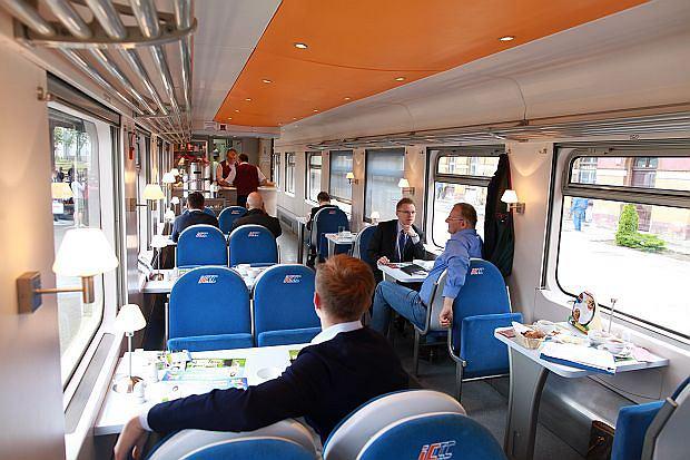 Pierwszy pociąg EuroCity z Trójmiasta przez Bydgoszcz i Poznań do Berlina