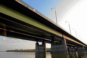 Najbardziej zat�oczony jest most Grota. A remont niebawem