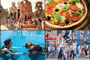Barcelona na weekend, Amsterdam na rower, nurkowanie i w�oska kuchnia - oto zwyci�zcy naszych letnich sonda�y! [LOTNICZE INSPIRACJE]