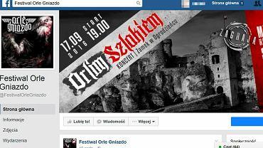 Koncert w Ogrodzieńcu organizuje fundacja Orle Gniazdo. Zaprasza na niego m.in. na Facebooku