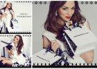 Paulina Krupi�ska w �wi�tecznej sesji zdj�ciowej - reklamuje now� kolekcj� torebek Sabriny Pilewicz [ZDJ�CIA]