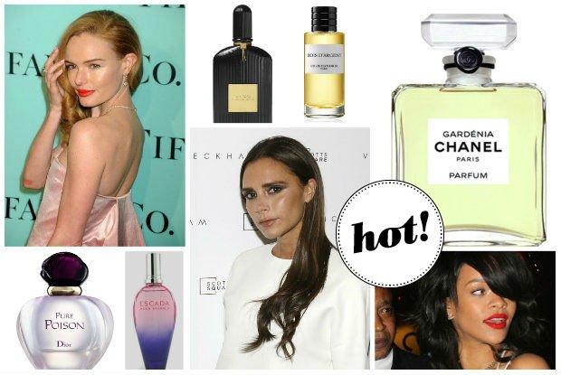 Beauty news: Rihanna, Kate Bosworth, Victoria Beckham i nie tylko...Czym pachn� gwiazdy?
