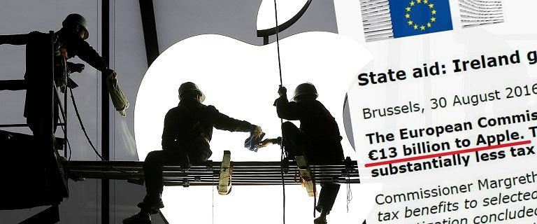 To najwy�sza kara w historii UE. Apple zap�aci 13 mld euro za unikanie podatk�w. B�dzie odwet ze strony USA?