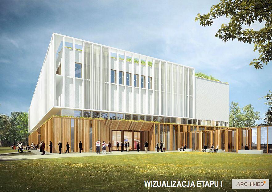 Szpital centralny - wizualizacje