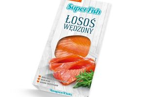 SuperFish łosoś wędzony - idealny do wiosennych lekkich sałatek